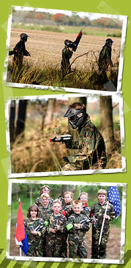 Kinder-Paintball Valkenswaard